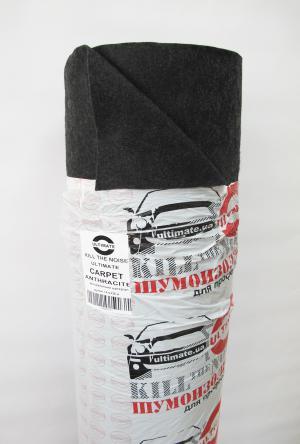 ULTIMATE СARPET ANTHRACITE декоративный материал (рулон 1,4 м х 25 м)