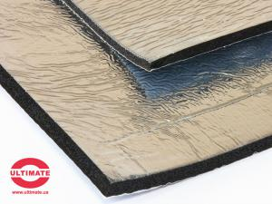 Шумоизоляция Ultimate Soft металлизированный 10 мм лист (0,5 м x 0,75 м)
